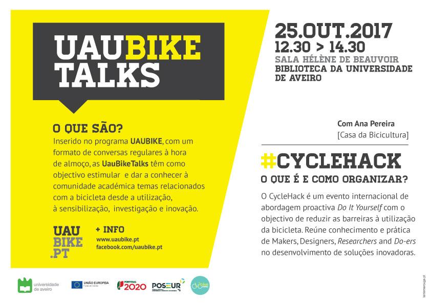 UauBikeTalks - Ciclehack
