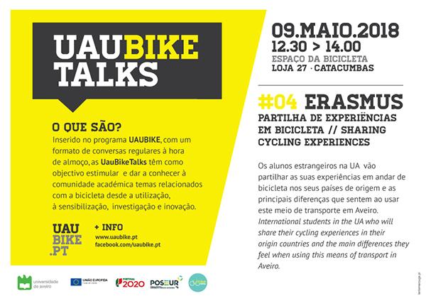UauBikeTalks - #4 #Erasmus